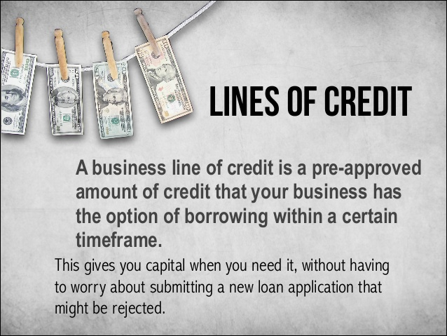 Line of Credit(LOC) has many features and advantages