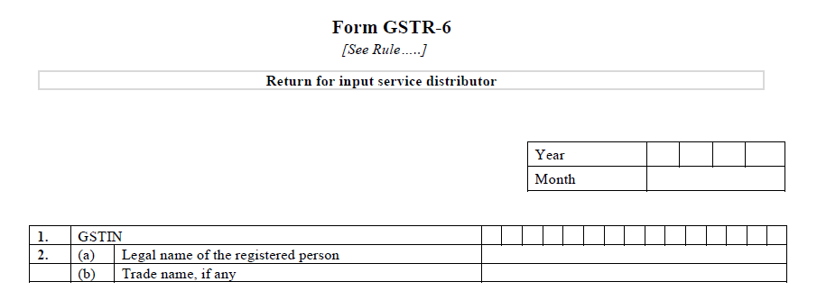 GST has numerous returns that must be filed over the year