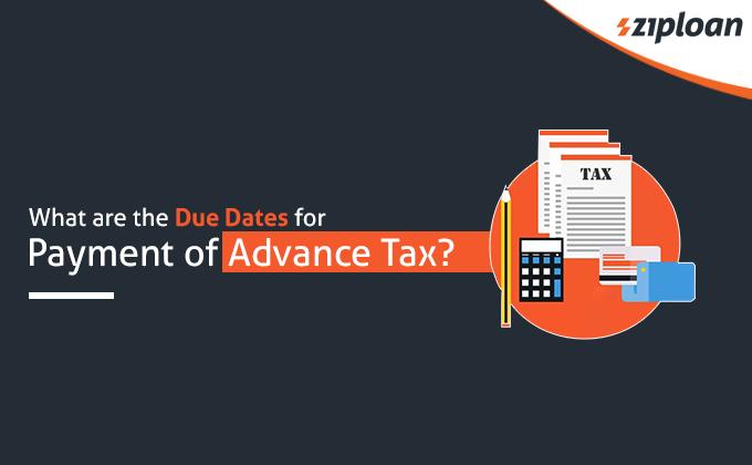 advance tax dates