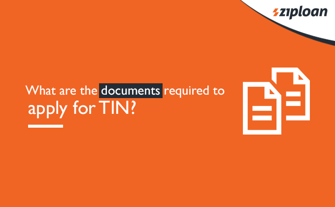 documents required to apply for TIN?