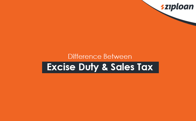 Difference between Excise Duty & Sales Tax