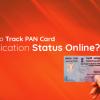 PAN card application status