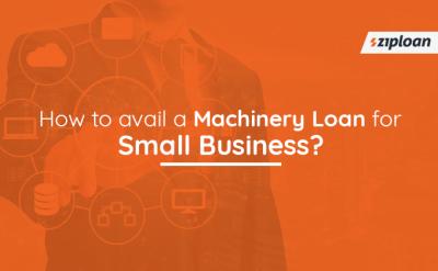 machinery loan