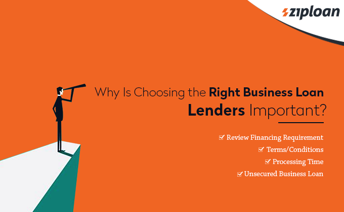 importance of choosing right loan lenders