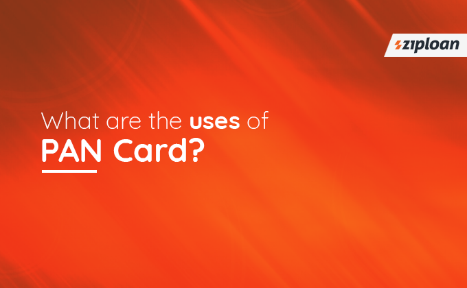 uses of PAN Card