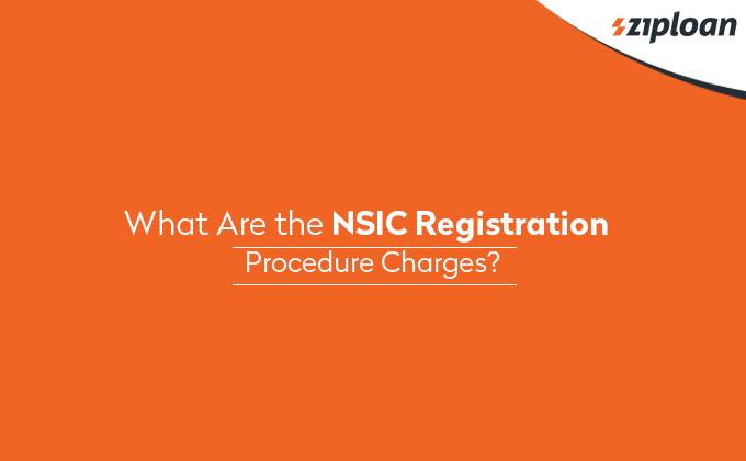 NSIC Registration Procedure Charges