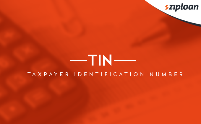 TIN Taxpayer identification number