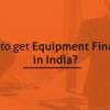 equipment finance