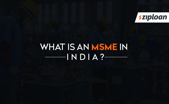 What is an MSME in India