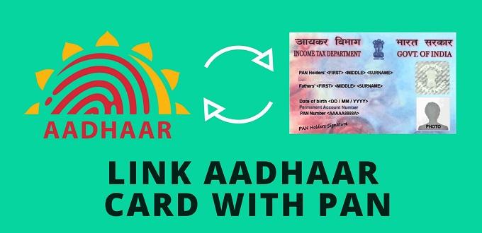 Link PAN aadhar