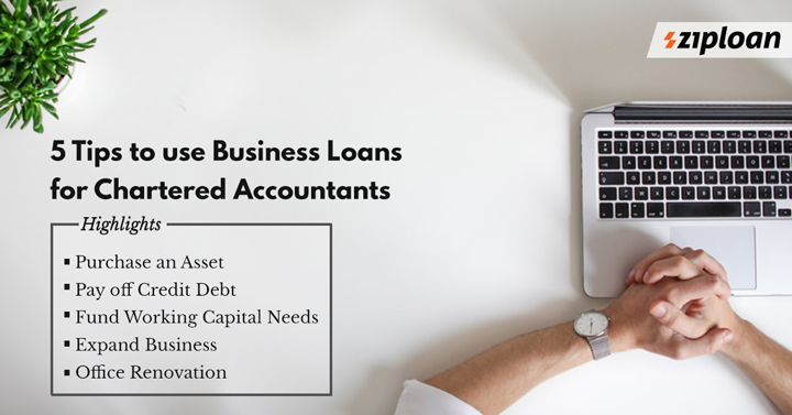 business loan for chartered accountants