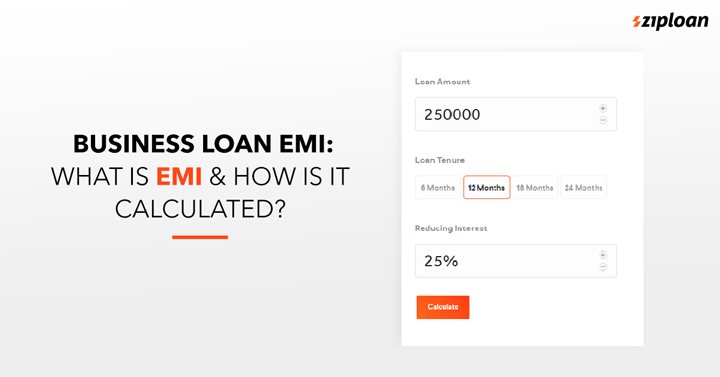 business loan EMI