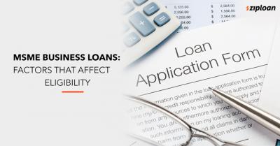 MSME business loans