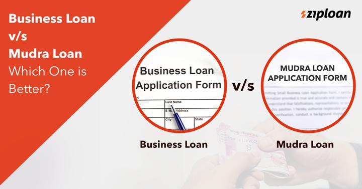 mudra loan vs business loan