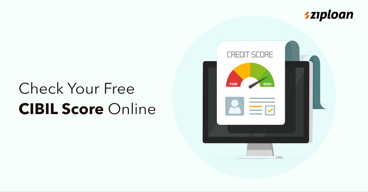 check your free cibil score online