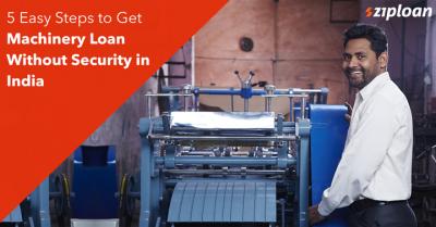 get machinery loan
