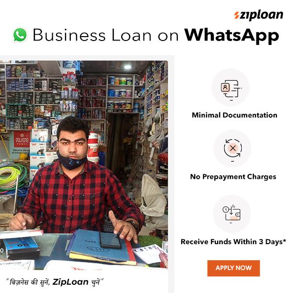 Ziploan - Business Loan on WhatsApp